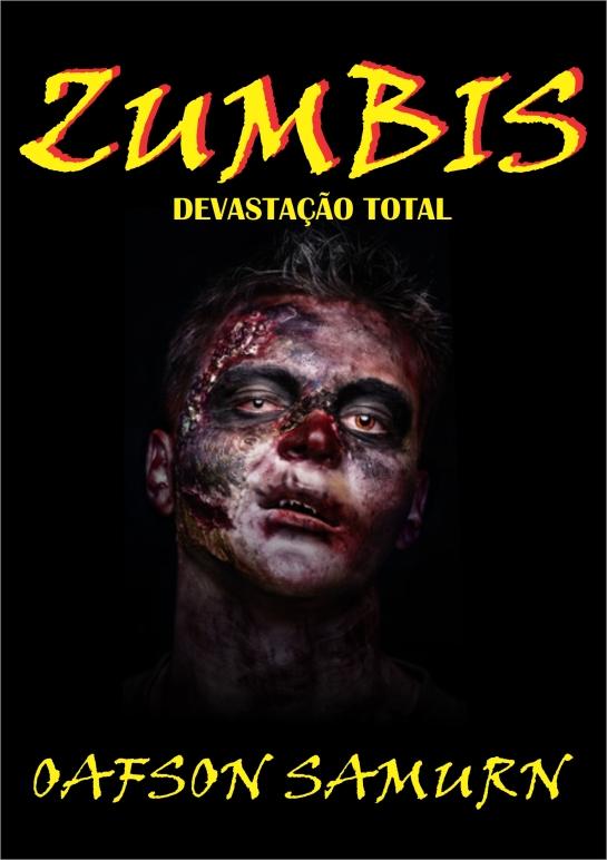Capa da versão Ebook de Zumbis - Devastação Total